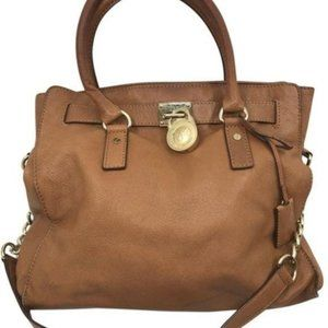 Michael Kors Brown L Leather Tote Bag